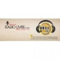 Logo R�dio Livre FM Bertioga 93.1
