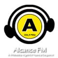 Logo Rádio Alcance 104.9 FM
