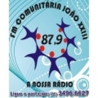 Logo R�dio FM Comunit�ria Jo�o XXIII 87.9