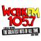 Ouvir a Radio 105.7 WCRK FM