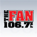 Logo Sports Radio 106.7 The Fan 106.7 FM