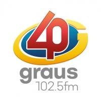 Rádio 40 Graus - 102.5 FM