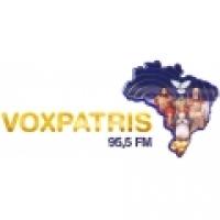 Logo R�dio Voxpatris 95.5 FM