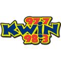 Logo Radio 97.7 / 98.3 KWIN 97.7 FM
