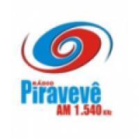 Rádio Piravevê 1540 - 1540 AM