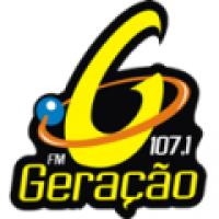 Logo Gera��o 107.1 FM